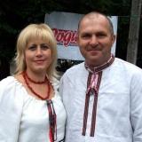 Валентина Тепла та Михайло Тиханський